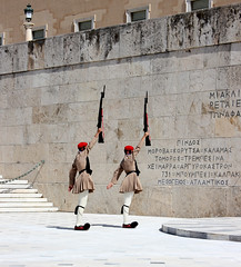 Changing of the Guards at the Tomb of the Unknown Soldier (ika_pol) Tags: athens acropolis greece ancientgreece ancientruins ancient antiquity geotagged