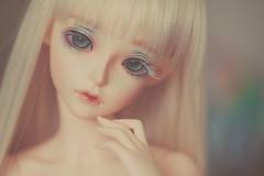 My Beautiful Cygne <3 (*DollyLove*) Tags: fairyland bjd doll feeple60 cygne bokeh canon portrait birthday present