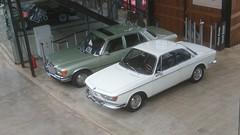 Mercedes-Benz S Class W116+ BMW 2000 CS (nakhon100) Tags: mercedes mercedesbenz sclass sklasse w116 bmw 2000 cs coupe cars