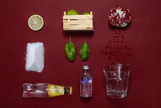 cocktail Vodka-Melograno...