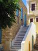 Symi Town   Stairs (Toni Kaarttinen) Tags: greece griechenland grecia grèce grécia ελλάδα elláda ἑλλάσ hellás dodecanese island greek city holiday vacation summer summerholiday symi syme simi σύμη excursion boattrip daytrip sea adrian stairs
