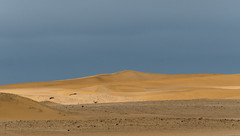 spot on (Karl-Heinz Bitter) Tags: sand desert dünen dunes namibia namib swakopmund karlheinzbitter landscape landschaft travel wüste clouds sky