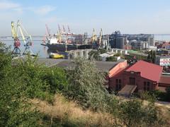 Odessa harbour seen from the promenade (kalevkevad) Tags: best flickr odessa odesa ukraine