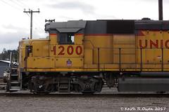 Salem Switcher (youngwarrior) Tags: gp392 emd locomotive up unionpacific railroad salem salemswitcher oregon