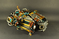 Darling Royale- A steampunk ship (The_Newt) Tags: lego steampunk spaceship moc darling royale airship steam punk
