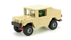 Army Vehicle (de-marco) Tags: lego town city army truck car hummer humvee military
