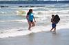 Everett & Mommy In The Ocean (Joe Shlabotnik) Tags: beach july2017 higginsbeach sue boogieboard 2017 maine everett ocean proudparents afsdxvrnikkor55300mm4556ged