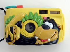 Monkey & Banana Camera (pho-Tony) Tags: photosofcameras toycameras monkeybananacamera monke banana camera toy novelty character boots bootsthechemist jungle plastic 35mm monkey