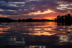 Give me water to paint for You (Yarin Asanth) Tags: paddling afterwork silence calm radolfzell höri bodensee dark black blue cloudy clouds orange sup kayaking red evening moos sundown sunset lakeconstance gmichael yarinasanth gerdkozik