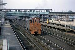 Found Photo - US NY LIRR Alco S-2 445 at Woodside 3-21-1965.tif (David Pirmann) Tags: lirr longislandrailroad train railroad transit foundphoto