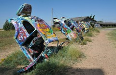 VW Volkswagen Ranch Texas USA (Ilhuicamina) Tags: vw cars volkswagen vwranch conway texas attractions graffiti