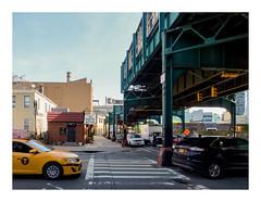 160512_1072_160512 092212_oly_S1_New York (A Is To B As B Is To C) Tags: aistobasbistoc usa newyork newyorkstate roadtrip travel olympus stylus1s longislandcity queens 44thdr 23rdst mta metropolitantransitauthority metro street cars taxi theshannonpot crossing zebra yellow cab green structure overhead urban city cityscape citylife