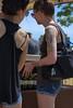 Inked (swong95765) Tags: ladies women females tattoo tattoos arm pretty imked shorts