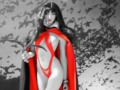 Vampirella (1/6th shooter) Tags: vampire vampirella drakulon dracula bats dynamitecomics comics superhero actionfigures actionfigure heroine onesixth phicen phicentoys horror