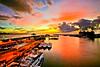 漁人碼頭八 (686阿鴻) Tags: 黃昏 風景 雲彩 海岸 倒影