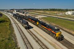 Silvis Yard (Trainboy03) Tags: iowa interstate iais 506 norfolk southern ns 7250 silvis illinois il