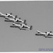 Four A-10s of the 190th FS Pass in Monochrome Review