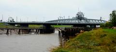 Sutton Bridge (Travis Pictures) Tags: bridge rivernene suttonbridge lincolnshire lincs southholland water waterway swingbridge a17 england britain uk nikon d5200 photoshop outdoors outside road transport fens fenland
