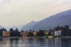 Shoreline Villas. Lake Como (lhg_11, 2million views. Thank you!) Tags: travel travelphotography vacation europe italy lakecomo lagocomo landscape lake villas shoreline scenic
