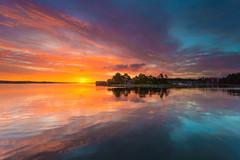 Sunrise (Torehegg) Tags: norway sky sunlight austagder sunray seascape grimstad fevik sørlandet sea coastline