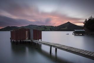 Dunedin - Hoopers Inlet Sunset 1