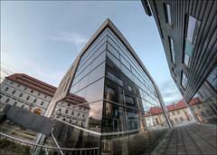 MMZ (p h o t o . w o r l d s) Tags: hallesaale sachsenanhalt deutschland architektur fisheye fischauge wideangle hdr tonemapping photomatix fujixt10 7artisans75mm28 photoworlds mmz mitteldeutschesmultimediazentrum