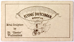 Flying Dutchman Airship Co. (SteveMather) Tags: edward jr skeeter wachtendonk metal sculpture airplane aircraft airship balloon boat steampunk eaa experimentalaircraftassociation vendor oshkosh wisconsin artist sculptor