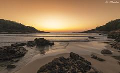 The sun has already set. Ya se ha puesto el sol (A. Muiña) Tags: mar marina seaphotography nature naturaleza landscape paisaje water agua cielo heaven puestadesol sunset fujifilm fujixt2 playa beach atardecer airelibre freshair color