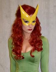 DSC_0236 (Randsom) Tags: newyorkcomiccon 2017 nyc convention october5 nycc comic book con costume newyorkcity october7 cosplay marvelcomics marvel superhero xmen hero mutant javits october6 marvelgirl mask yellow green stare redhead wig foxy hot girl woman female