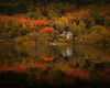Manse On The Loch (Adam West Photography) Tags: achray adamwest alpine autumngold conifer drunkie fir forrest framing glenbruach gold green highlands house lake leaves loch mirror oak perfect reflections scotland spruce still trossachs uk