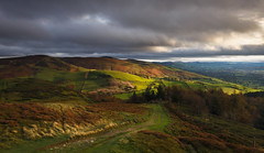 Moel Famau from Penycloddiau (Nick Livesey Mountain Images) Tags: