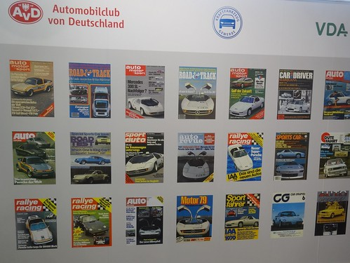IAA 2017: 1970's Car Magazine Covers