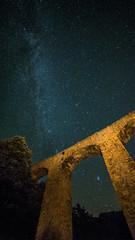 Acueducto de Turixant, Serra de Tramuntana,  Mallorca. (carloscarriónsánchez) Tags: nocturna milkyway víalactea mallorca serradetramuntana noche estrellas stars acueducto de turixant