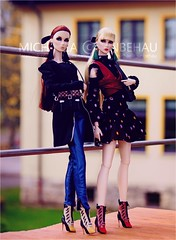Eden & Lilith (Michaela Unbehau Photography) Tags: integrity toys poetic beauty lilith eden blair the heirloom collection 2017 nu face fashion royalty fr fr2 michaela unbehau fashiondoll doll dolls toy photography outdoor model mode puppe fotografie wclub exclusive lotterie