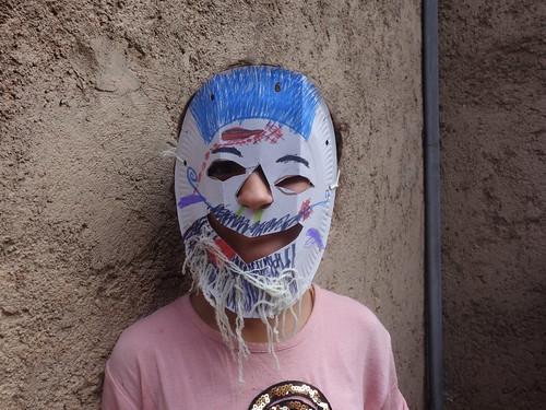 """Un masque : """" Bilmawn"""" (5)"""