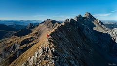 La chaîne des Aravis (Frédéric Pactat) Tags: nikon d750 afs ed fx d 750 20 mm f 18 f18 nikkor 20mm f18g mountains montagne ridge crête chaîne des aravis haute savoie hautesavoie hiking