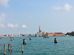 San Giorgio Maggiore seen from Fondamenta Zattere, Venice