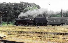Wolsztyn steam (1) 199108 (rh1193) Tags: wolsztyn poland polen polska pkp railway eisenbahn train zug ol49 steam dampf