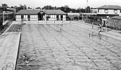Dalby Olympic Swimming Pool, 20 October 1940 (Queensland State Archives) Tags: pool dalby darling downs swim swimming olympic 1940s 40s design training learn water public