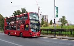 Arriva London HV87 (cybertect) Tags: 141 arriva arrivalondon colvilleestate hv87 hoxton lj13fdl london londonboroughofhackney londonn1 londonbus n1 newnorthroad olympusomzuikoshift35mmf28 sonya7 volvob5lh wrighteclipsegemini2 wrighteclipsegeminiii bus construction doubledecker pigeon granturismo