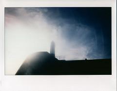Porthcawl Lighthouse (2) (Cariadus) Tags: fuji instaxwide polaroid instantfilm colour roidweek porthcawl bridgend lighthouse
