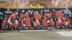 Caper... (colourourcity) Tags: graffiti letters graffitiwriters melbourne burncity colourourcity awesome streetart streetartnow streetartaustralia allthoseshapes nofilters caper dt dbl trbl dbltrbl