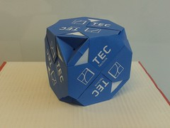 20171024_095845 (ISO_rigami) Tags: origami modular a4 sonobe rectangular cube polyhedron 3d