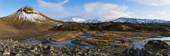 the thrill of silence and solitude (lunaryuna) Tags: iceland highlands fjallbakki panorama landscape mountains glen mountainstream lavafield textures thelightfantastic lunaryuna volcaniclandscapes