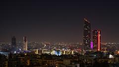 Nightscape of Amman