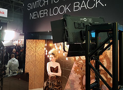 Getting Steampunk with FACTOR 1x2s at the Olympus Booth (FotodioxPro) Tags: photoplus photoplus2017 nyc newyorkcity expo fotodiox fotodioxpro olympus steampunk photoshoot factor factorled factor1x2 studiolight filmlight cinemalight constantsourcelight model femalemodel