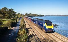 The hunt for blue 125's  (continues) (Rails West) Tags: 125 devon fgw125 locations powderham seawall