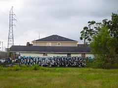 (gordon gekkoh) Tags: couch hoet konqr new orleans neworleans graffiti