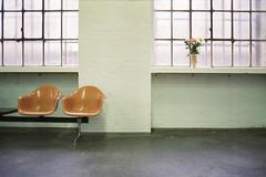 take a minute (flyerkat_L.E.) Tags: seat waiting time moment film analog agfavista200 nikon fm2 35mm