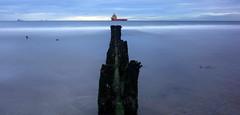 Take Aim........ (PeskyMesky) Tags: aberdeen aberdeenbeach longexposure le water sea ocean groyne landscape scotland flickr